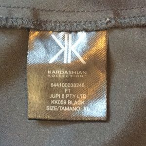 Kardashian Kollection Tops - Kardashian Kollection black racerback tunic